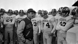 Vince Dooley during his early years in Athens. (Associated Press)