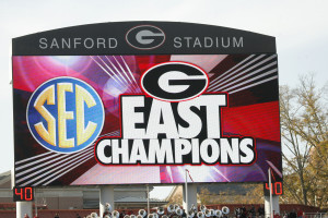 The Dawgs are, and should be, favorites to win the SEC East. (Evey Wilson / UGA)