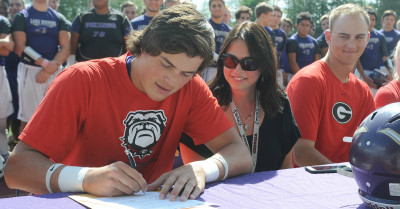 5-star QB Jacob Eason has signed with financial aid papers with UGA. (Doug Ramsey/ Special)