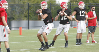 Greyson Lambert Brice Ramsey 1 2015 by Josh L Jones DCS 000012