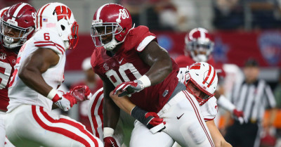 Jarran Reed and Alabama's defensive line are very stingy. (Getty Images).