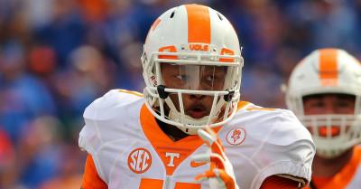 Tennessee quarterback Joshua Dobbs.