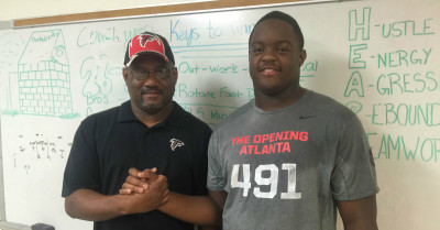 Just watch. Tyler Clark will be a great defensive lineman at UGA. (Chris Kirschner)