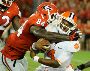 Leonard Floyd should be a big playmaker for the Dawgs. (John Kelley / UGA)
