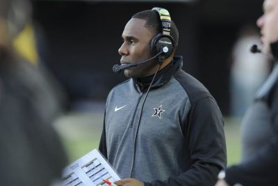 Derek Mason made wholesale changes of staff and duties after last year's 3-9 season, which included an 0-8 SEC record. USA TODAY / CHRISTOPHER HANEWINCKEL