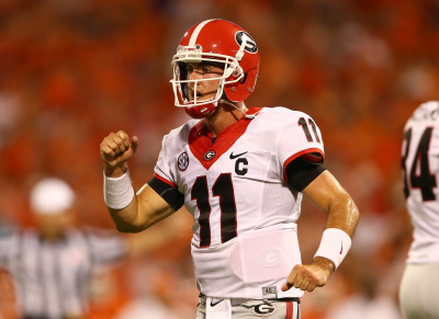 Don't forget that UGA all-time great Aaron Murray was a dual-threat quarterback recruit back in the day. (Getty Images)