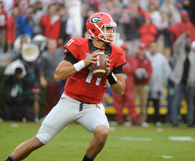 Fans wonder why Greyson Lambert continues to be Georgia's starting QB. (John Kelley / UGA)