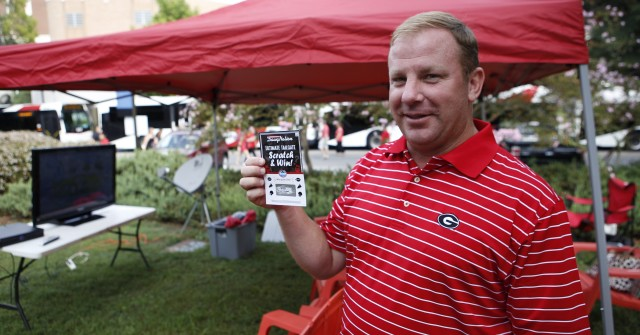Bruce Kelly is ready to watch a Georgia victory. (Joshua L. Jones/ Special)