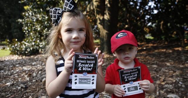Amy and Will Avery each got a winning ticket (Joshua L. Jones/ Special)