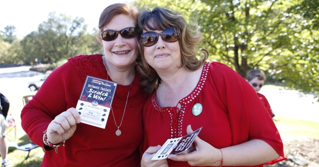 Susan Cardin, left, from Athens, Ga., and Michelle Brantley from Colbert, Ga. (Joshua L. Jones/Special)