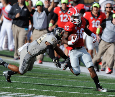 Isaiah McKenzie was a stand-out performer for the Dawgs. (John Kelley / UGA)