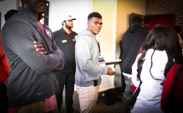 4-star RB Elijah Holyfield is currently UGA's only commitment at his position. (Randy Schafer / Special)