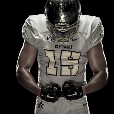 "Vanderbilt is calling this look its ""Deep Water"" uniform. VANDERBILT"