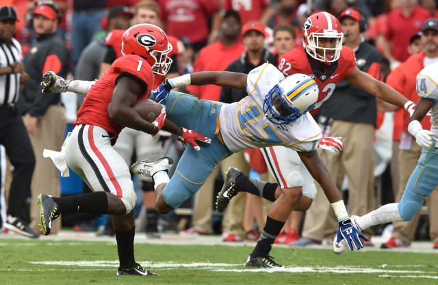 Sony-Michel-by-Brant-Sanderlin-AJC-UGA-vs.-Southern-2015-DRC_3902