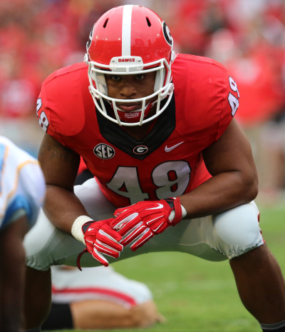 Quayvon Hicks did not get any reps at tailback against Missouri this past Saturday. UGA / ANDY HARRISON