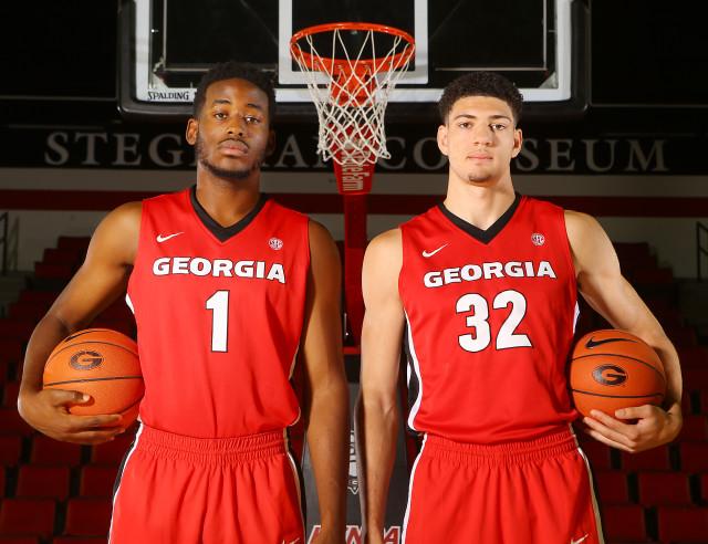 Yante-Maten-Mike-Edwards-by-Curtis-Compton-AJC-UGA-basketball-2015-DRC_4290