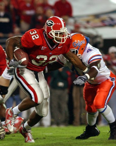 Musa Smith said a 'gut feeling' and 'Southern hospitality' led him to UGA. (Rick Addicks / AJC)