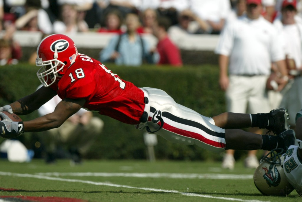 Gary finished his UGA career as the school's all-time leader in punt returns and punt return yardage. (Brant Sanderlin / AJC
