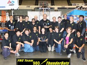FRC Team 980 ThunderBots fundraiser
