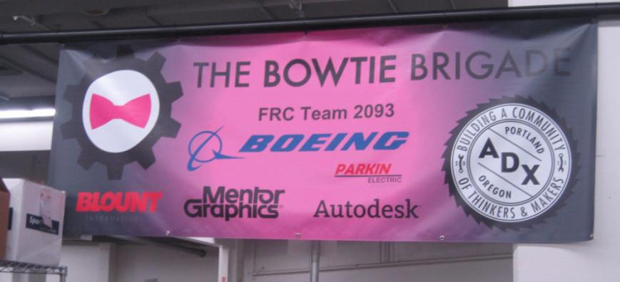 FRC Team 2093 The Bowtie Brigade fundraiser