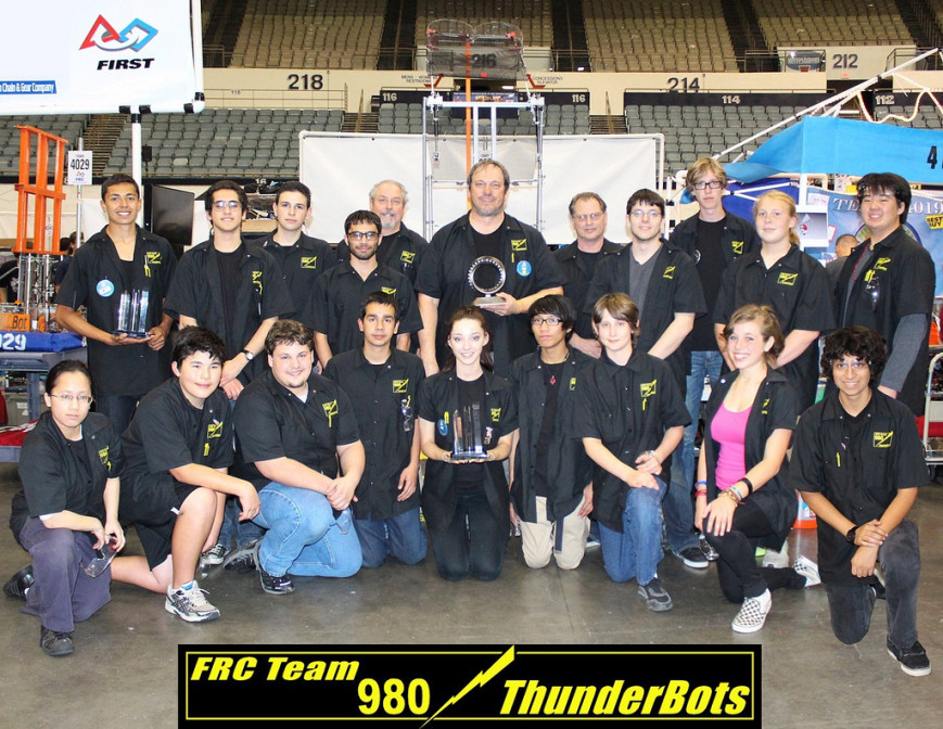 FRC Team 980 ThunderBots fundraiser