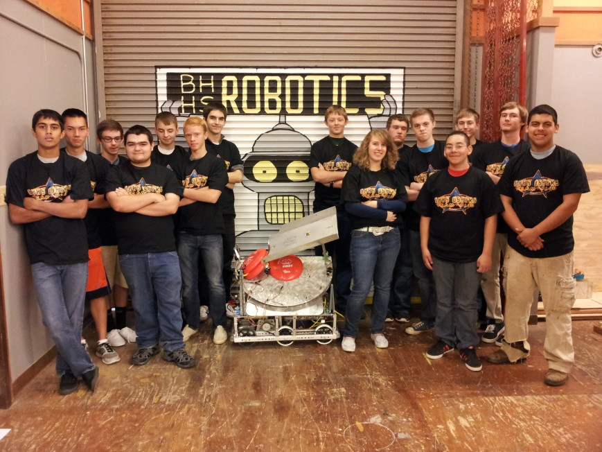 Brookings Harbor High Robotics fundraiser