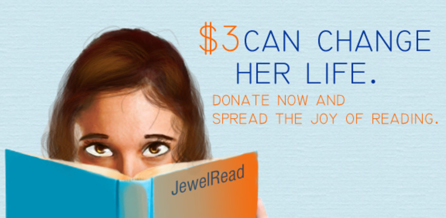 JewelRead - Books for All fundraiser