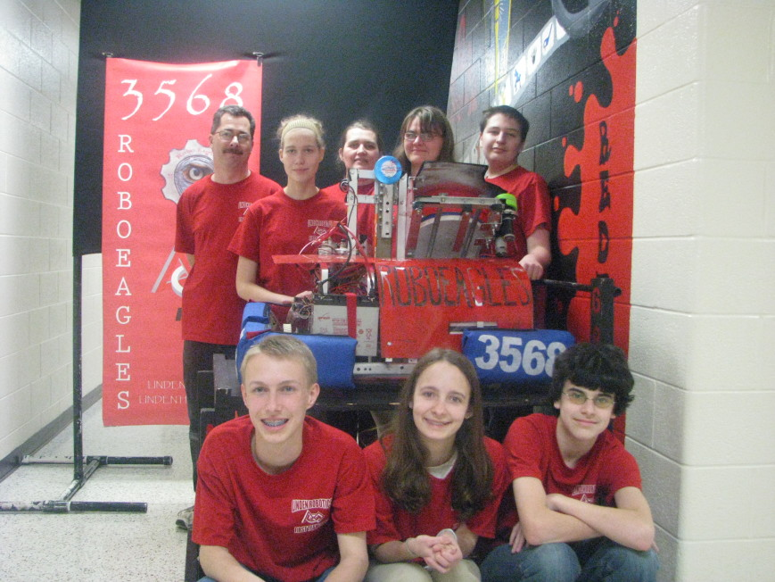Linden Robotics Team fundraiser