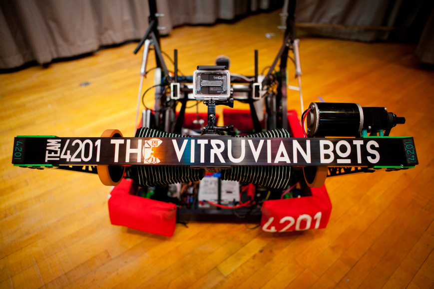 Vitruvian Bots Team 4201 fundraiser
