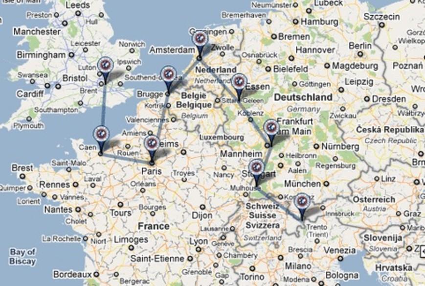 Jeffrey's Europe trip fundraiser