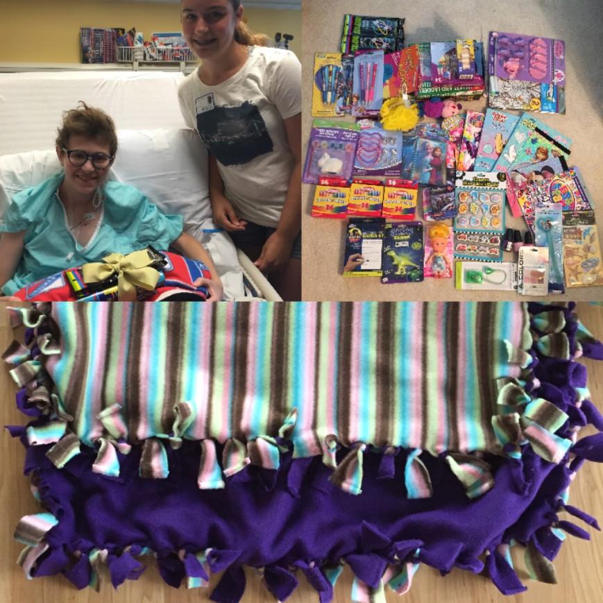 Fleece Blankets & Care Packages fundraiser