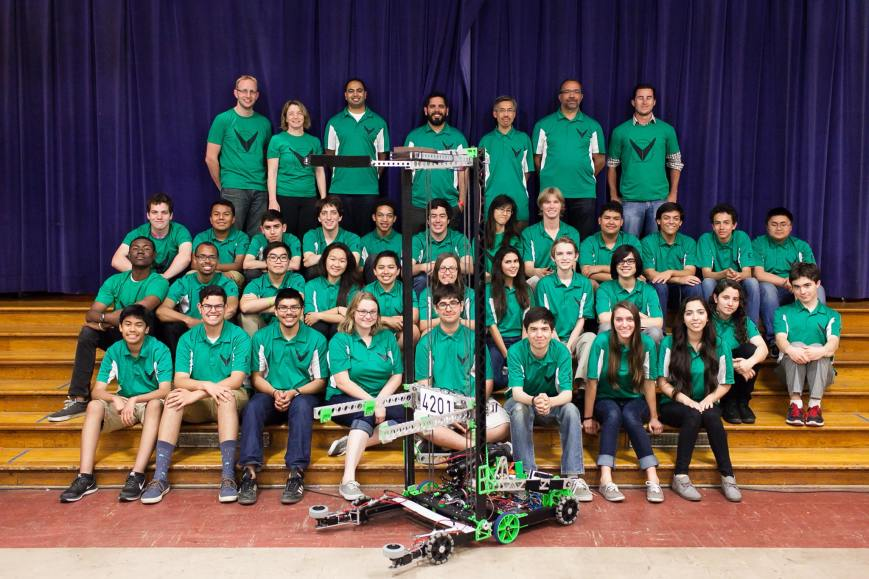 Team 4201: The Vitruvian Bots fundraiser