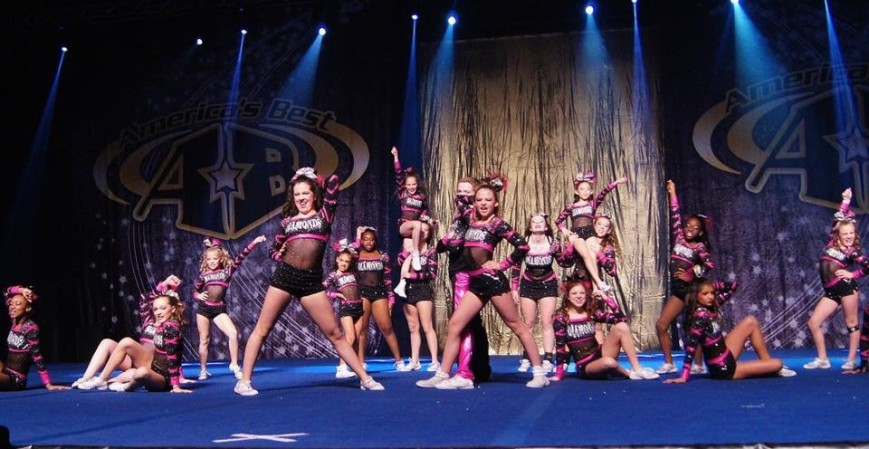 Diamonds All Star Cheerleading fundraiser