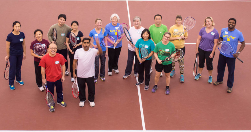 Blacksburg Community Tennis Association fundraiser