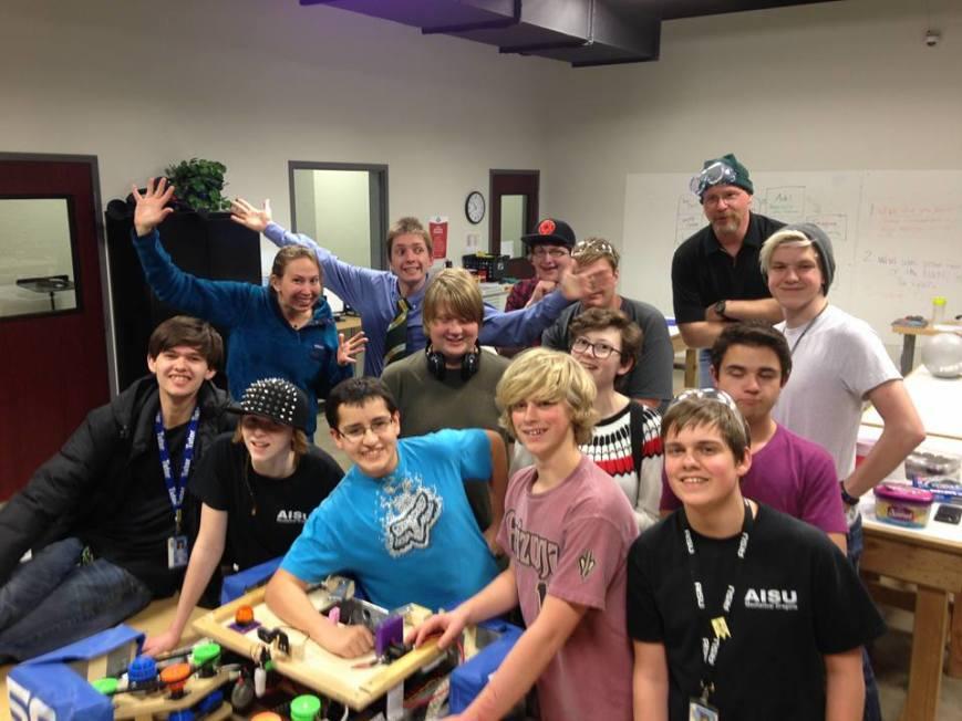 AISU Mechanical Dragons (5974) fundraiser
