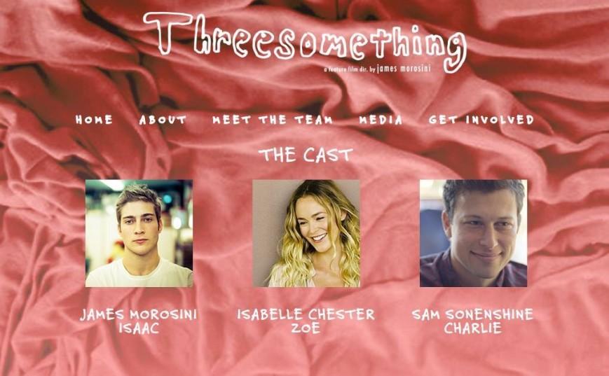 Threesomething Film fundraiser
