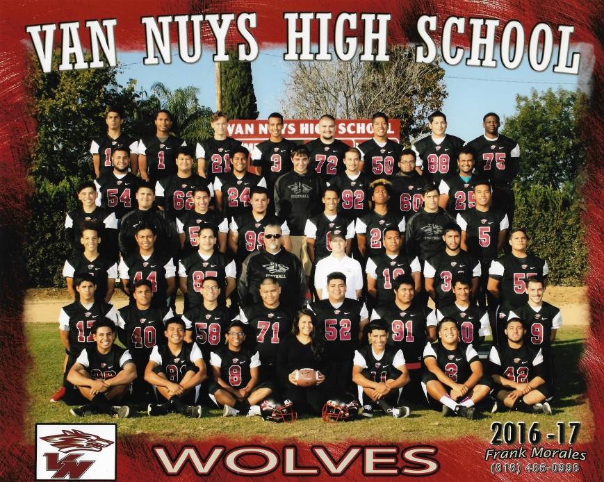 Van Nuys HS Football Team! fundraiser