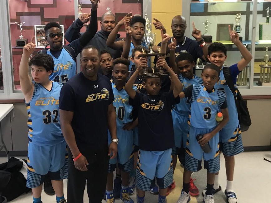 Carolina Elite 5th Grade Basketball Team fundraiser