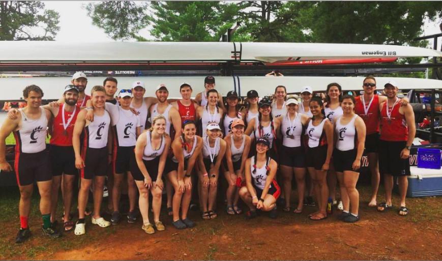 University of Cincinnati Rowing Club fundraiser