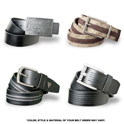 Tanga - 2-Pack Designer Men's Belts - $17.99