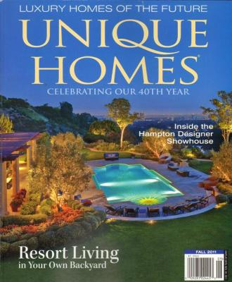 Unique Homes Magazine Subscription .66 An Issue  Today Only